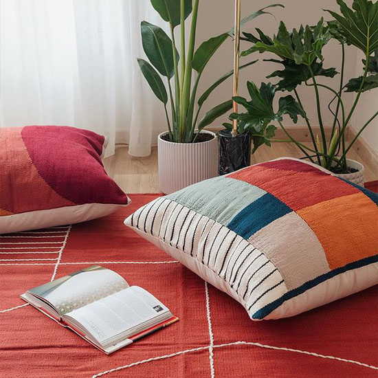 Trendy Floor Cushions Dubai